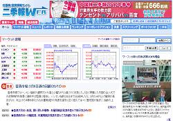 中国株投資情報サイト 二季報WEB